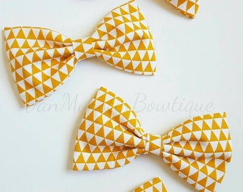 Orange Fabric Bow