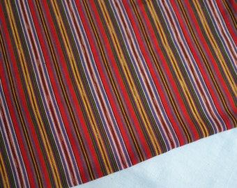 Ikat Fabric from Guatemala (#73) - 100% Cotton - Handwoven Fabric - 1 yard