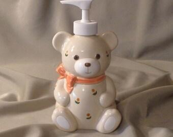 SOAP DISPENSER ~  Otagiri Bear