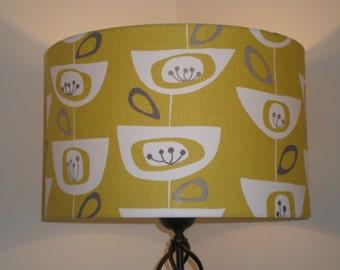 Handmade Lightshade - John Lewis - Seedheads - Citrine