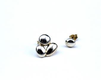 Drop earrings/Mismatched earrings/earrings silver/Sterling silver earrings/Unique
