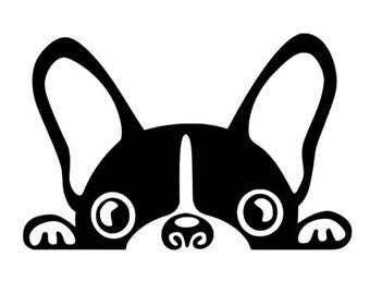 French bulldog decal | Etsy