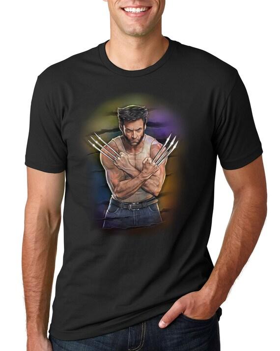 Wolverine (Hugh Jackman) Unisex T-shirt