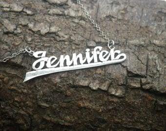 Sterling Silver Necklace Chain Jennifer Necklace Pendant