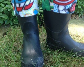 Kids rain boot liners, winter boot liners, kids boot liners, custom boot liners