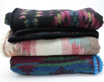 Southwestern Baby Blanket / Aztec Swaddle Blanket / Southwestern Stoller Blanket / Blanket / Newborn Blanket / Hospital Blanket / Photo Prop
