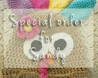 Special order for Sandy!