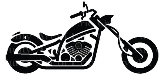 Motorcycle Birthday - Edible Cake and Cupcake Topper For Birthday's and Parties! - D22085