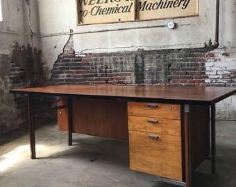 Mid century modern desk mid century desk mid century executive desk
