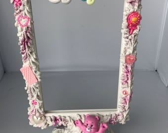 Cheer Care Bear Decoden Dessert Frame - Cute gift