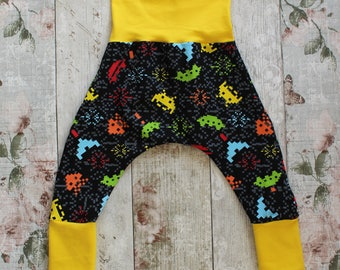 Peedie Boo Harem Style Trousers.......Space Craft