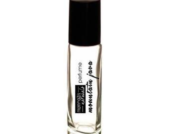 Natural Body Fragrance MOUNTAIN JAVA Perfume Cologne Oil Coffee Mountain Rain 10ML