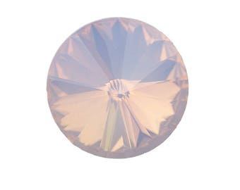 12 mm round cabochon Rose Opal x 1 pc