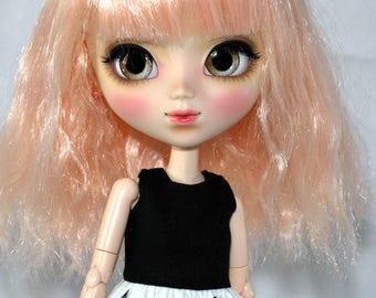 """Dress Pullip Obitsu model """"Black and White"""""""