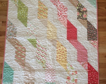 Finished Lap, Crib, or Floor Finished Quilt