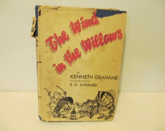 Wind inthe Willows Book