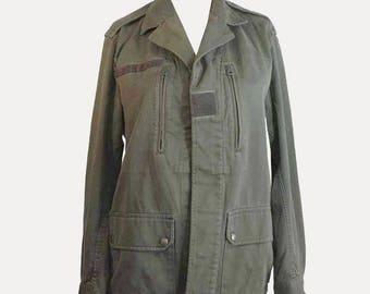 Light khaki army jacket