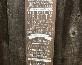 Better Together wooden sign
