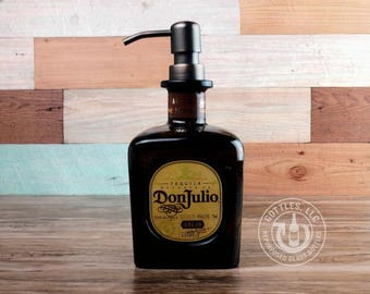 Upcycled Don Julio Tequila Soap Dispenser AN