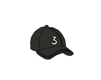 Chance the Rapper Hat Print