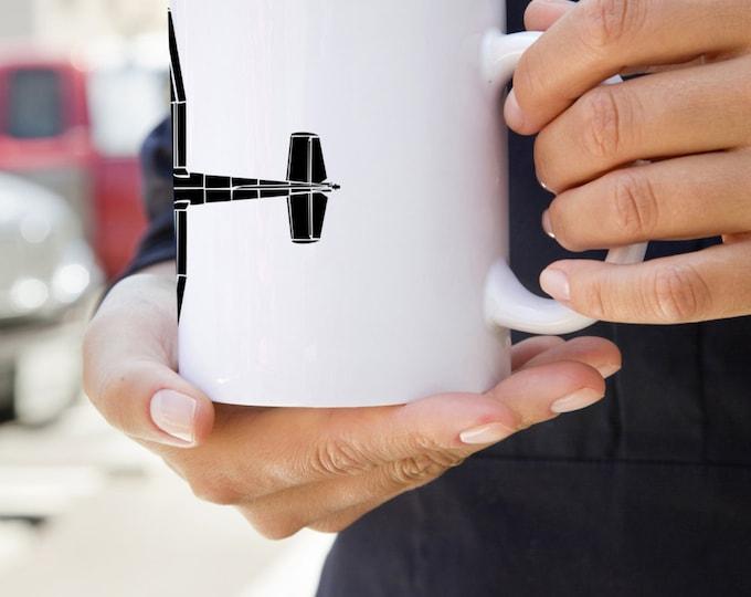 KillerBeeMoto:  U.S. Made Coffee Mug Cessna 182 Recreational Aircraft