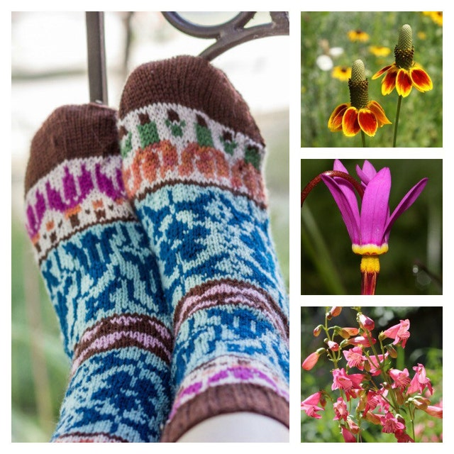 fair isle knitting patterns by kunstwerkdesigns on etsy