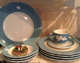 Restaurant Ware Cup And Saucer - Syracuse China, Oakleigh Pattern