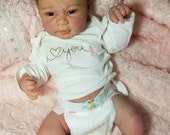 Made to Order.  Anatomically Correct  Girl Reborn Baby doll. Madison by Andrea Arcello,  Full body. Lana Totten Professional Doll Artist.