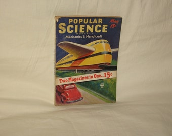vintage may 1939 popular science magazine