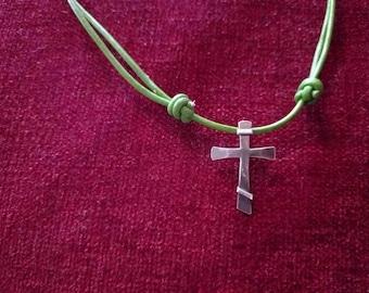 Simple Sterling Three Bar Cross
