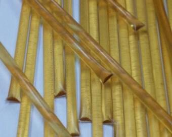 1,000 orange honey sticks, bulk honey sticks, wholesale honey sticks, honey stick favors