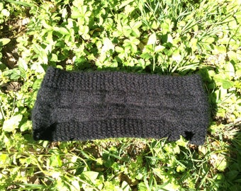 100%  Merinos and cachemire  bands head .Knitted in Italy