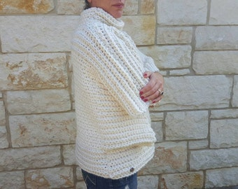 Free Shipping Off White Big Chunky Sweater
