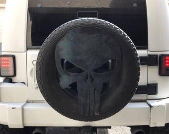 Jeep spare wheel cover