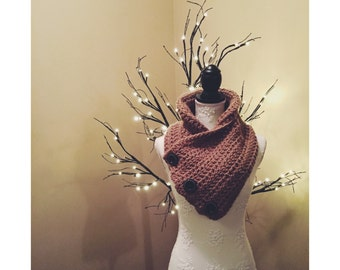 Button Up Cowl Scarf