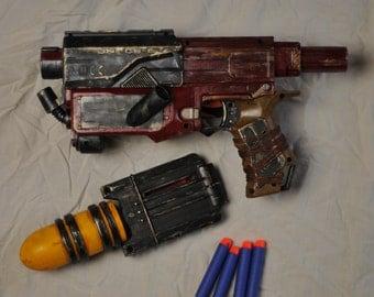 Steampunk/wasteland Nerf Gun - Recon - Unique - Hand made sculpture/show piece/movie prop