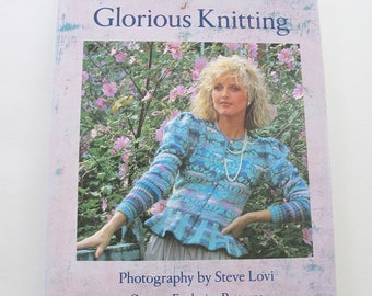 Vintage Kaffe Fassett Glorious Knitting book including 30+ patterns