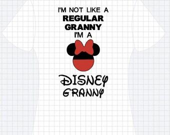 Disney Granny Shirt