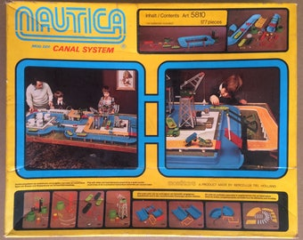 Vintage Nautica Canal System toy set from the 70 's.