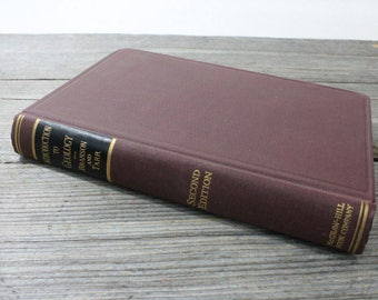 Introduction to Geology by Branson and Tarr, 2nd Edition. Vintage science book published in 1941