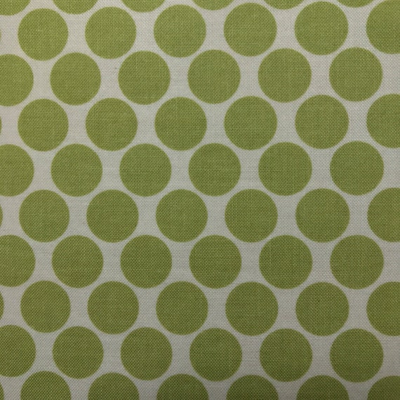 Green Polka Dot Fold Over Clutch / Cross Body