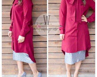 Bow Tunic High low
