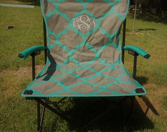 Monogrammed Camping Chair-Adult