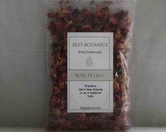 Dried Rose Petals  and Buds