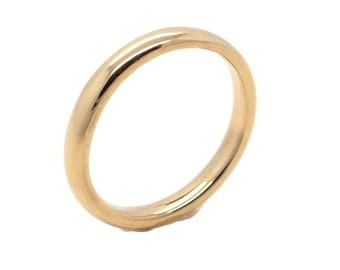 Yellow Gold Wedding Band, Mens Wedding Band, Womens Wedding Band, Wedding Jewellery, Bride Ring, Groom Ring, Gold Wedding Ring
