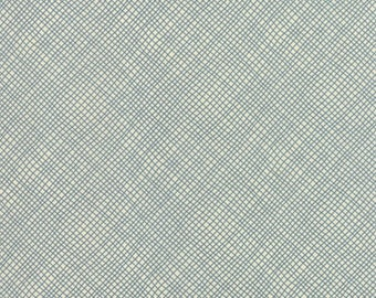 Perfectly Seasoned, designed by Sandy Gervais for Moda Fabrics 17828 15 Teal on Cream