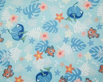 Disney Finding DORY Digital Printing Cotton Fabric by Yard