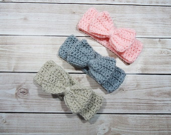 Girl Headwrap, Girl Ear Warmer,  Girl Head wrap, Ladies Head Warmer, Knit Baby Headband, Baby Turban Wrap, Girl Head Wrap