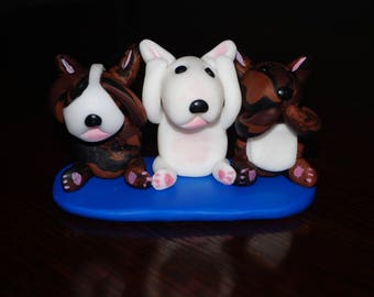 English Bull Terrier Ornament.