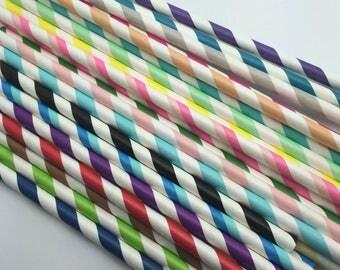 25pc Paper Straws #9